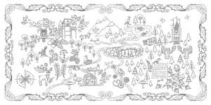 Таинственный сад книга для творчества