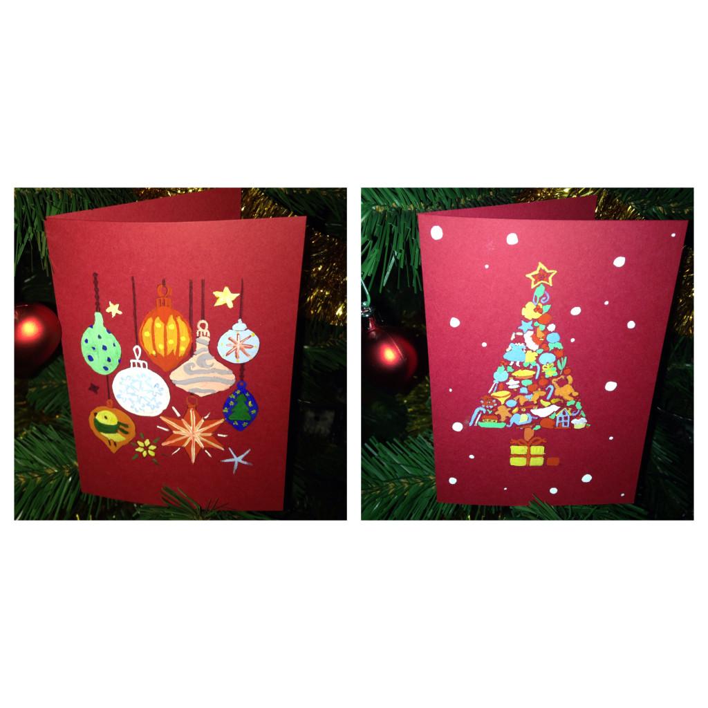готовые Новогодние открытки