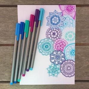 картинки для срисовки мандалы