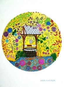 Набор открыток Таинственный сад