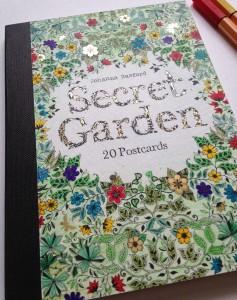 Джоанна Бэсфорд Таинственный сад Набор 20 открыток