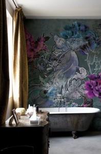 Роспись стен в интерьере картинки