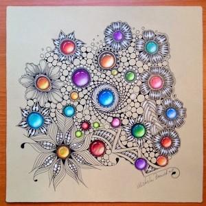 Рисуем драгоценные камни