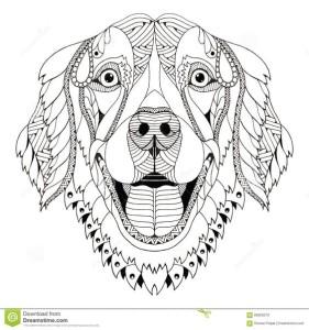 раскраска собака распечатать