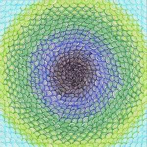 Техника рисования зентангл