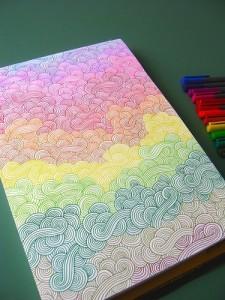 Зентангл рисование
