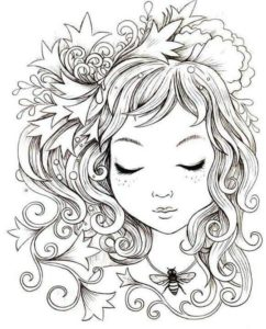 раскраски антистресс для девочек 10 лет