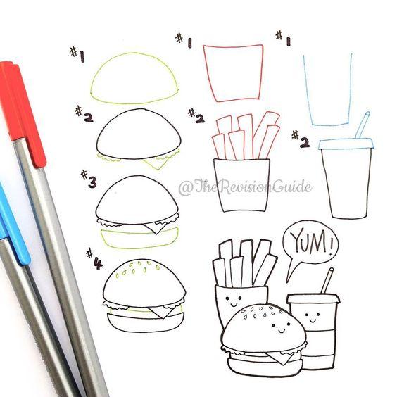 картинки для срисовки простым карандашом